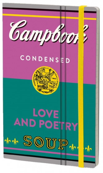 notitieboek Love and Poetry 21 x 13 cm karton/papier