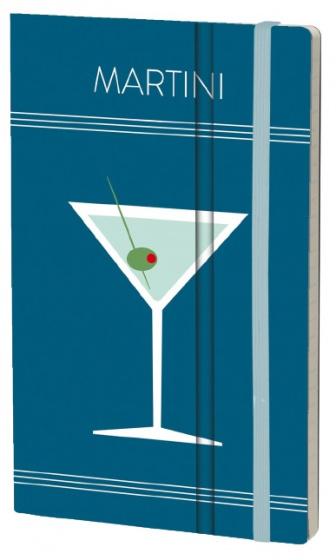 notitieboek Martini 21 x 13 cm ivoor papier/karton