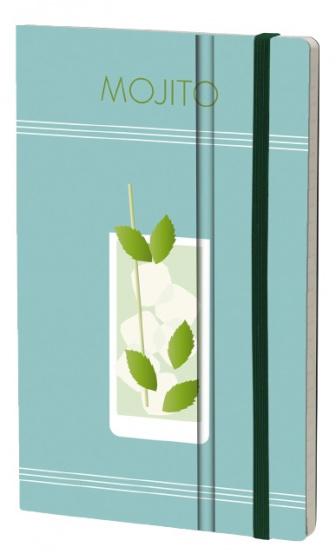 notitieboek Mojito 21 x 13 cm ivoor papier/karton