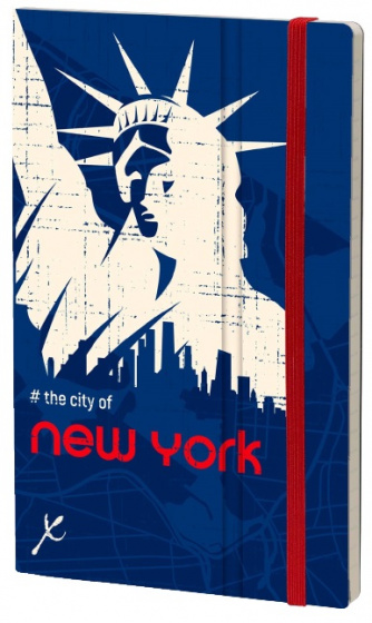 notitieboek New York City 21 x 13 cm karton/papier