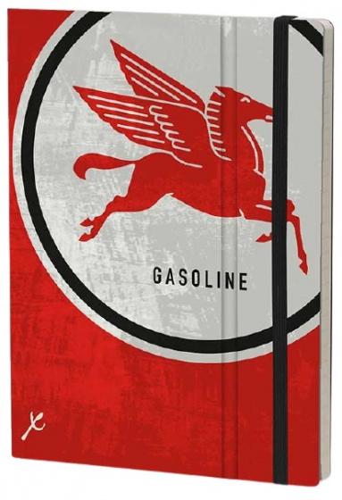 notitieboek Pegasus 21 x 15 cm karton/ivoor papier