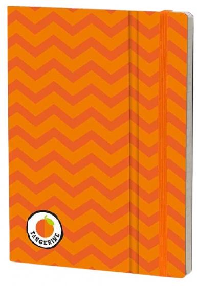 notitieboek Tangerine 21 x 15 cm karton/ivoor papier