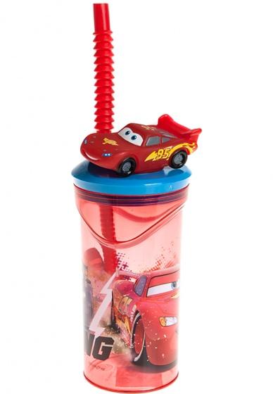 drinkbeker Cars met figuur 360 ml rood