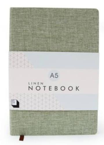 notitieboek A5 - 21 x 14,5 cm papier lichtgroen
