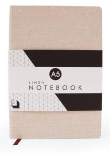 notitieboek A5 - 21 x 14,5 cm papier lichtroze