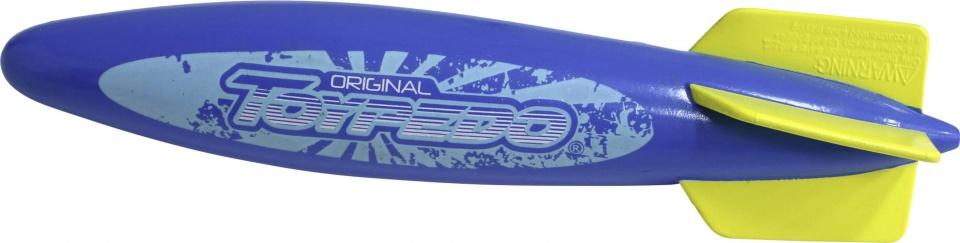 duikspeelgoed Toypedo Original 25,5 cm blauw