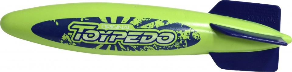 duikspeelgoed Toypedo Original 25,5 cm groen