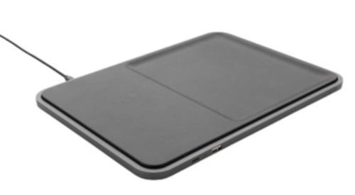 oplader draadloos 28 cm ABS/polyurethaan zwart