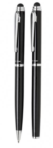 pennenset Deluxe 16,7 cm staal zwart