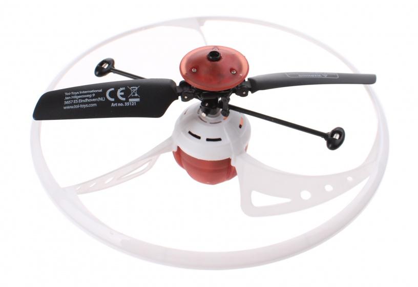 Infrarot UFO-Drohne Toi-Toys weiß Drohnen für Kinder ab 8 Jahren