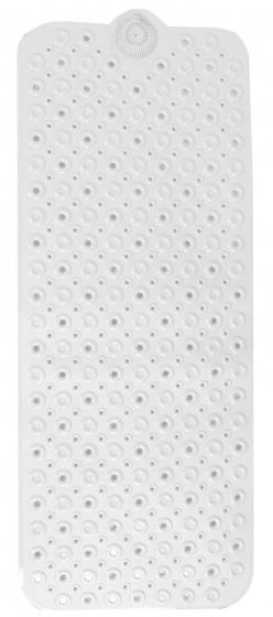 badmat 100 x 40 cm PVC wit