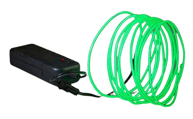 lichtsnoer neon led 2,75 meter groen