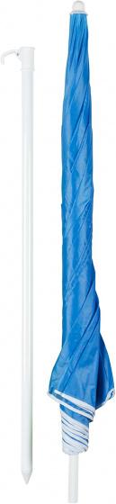 parasol 200 cm blauw