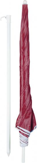 parasol 200 cm rood