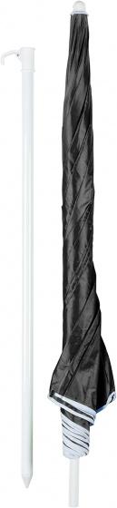 parasol 200 cm zwart