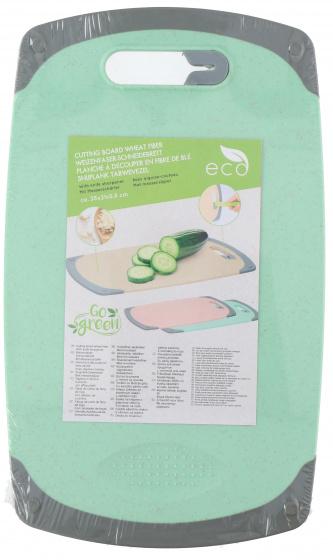 snijplank 35 x 21 cm polypropyleen groen