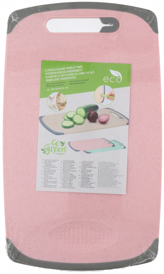 snijplank 40 x 24 cm microfiber roze