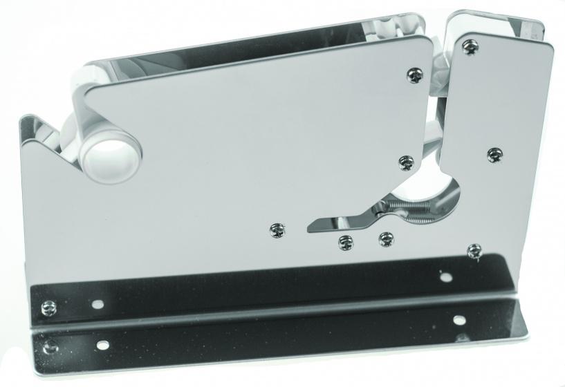 zakkensluiter 12 mm RVS zilver
