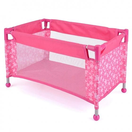 snuggles campingbedje pop 52 x 31 x 31 cm roze