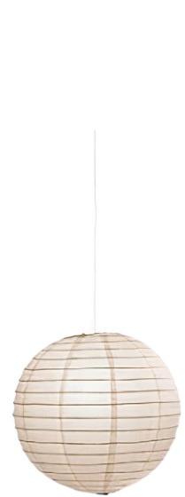 hanglamp Paper 47 x 50 cm papier wit