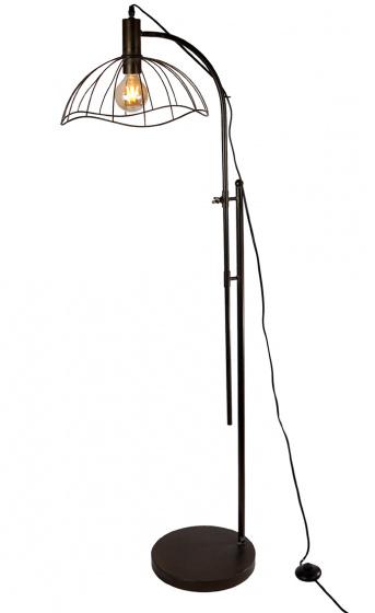 staande lamp 180x45x35 cm metaal donker grijs