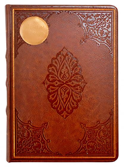 notitieboek Old Books 14 x 20 cm karton/papier oranje