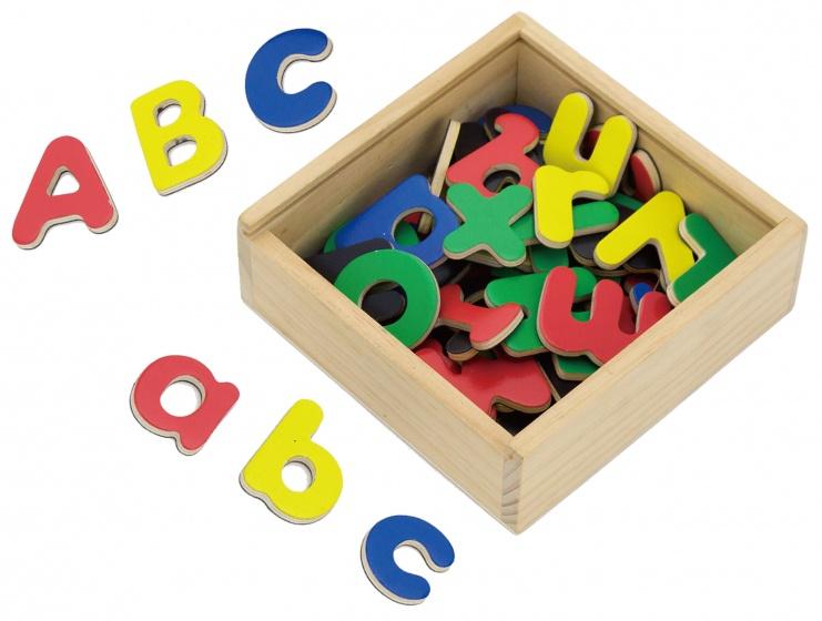 magnetische letters 52-delig multicolor