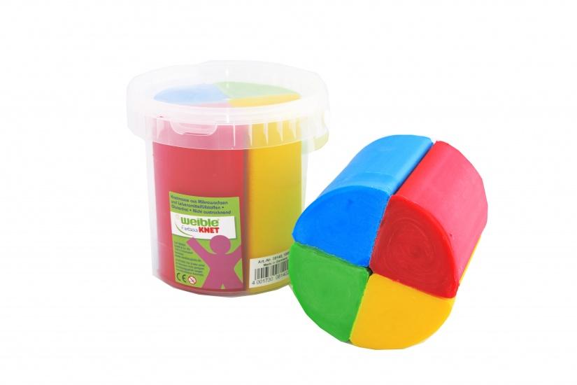 Fantasie Klei 4 Kleuren 1000 Gram