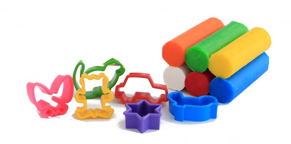 Fantasie Klei 6 Kleuren Met Accessoires 240gram