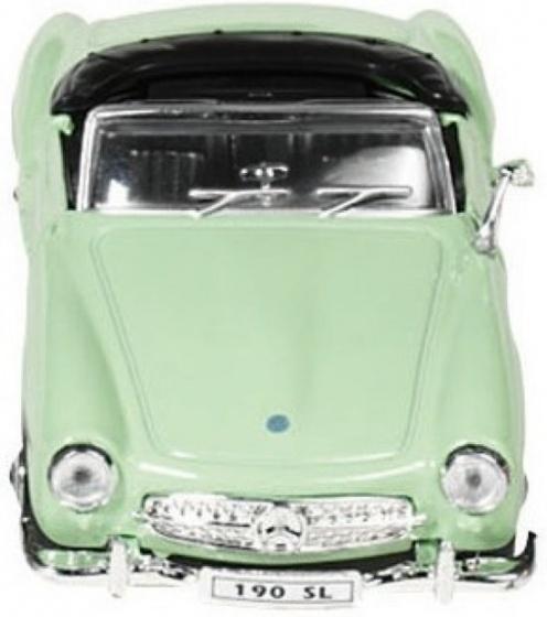 Metalen Mercedes-Benz 190 SL (1955): Groen
