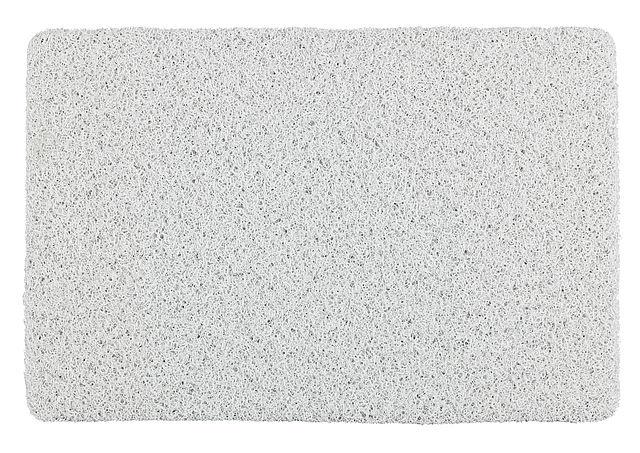 badmat Loop 40 x 60 cm PVC wit