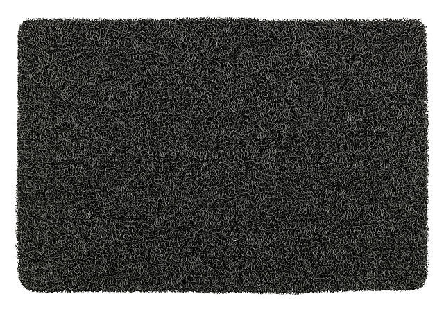 badmat Loop 40 x 60 cm PVC zwart