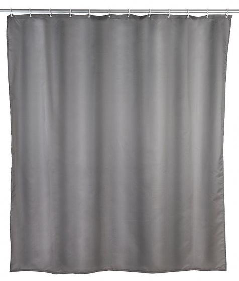 douchegordijn 180 x 200 cm polyester grijs do