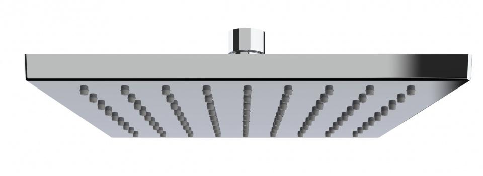 douchekop waterbesparend 20 x 20 cm ABS chroom