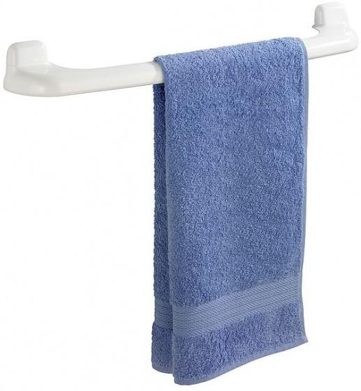 handdoekhouder 66 x 9,5 cm ABS wit