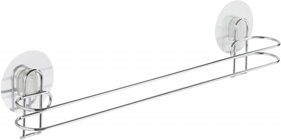 handdoekhouder Osimo 45 x 11,5 cm staal zilver