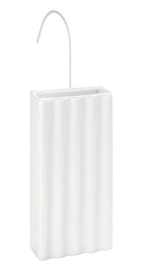 luchtbevochtiger 19,5 cm keramiek wit 2-delig