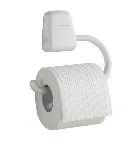 toiletrolhouder ABS 17,5 x 3 x 15,5 cm wit