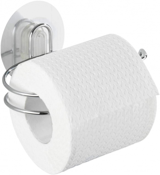 toiletrolhouder Osimo 15 x 9 x 10,5 cm staal zilver