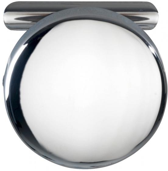 wandhaak Basic 6,5 cm RVS chroom/zilver