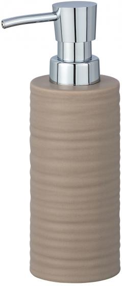 zeepdispenser Mila 260 ml keramiek beige