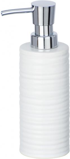 zeepdispenser Mila 260 ml keramiek wit