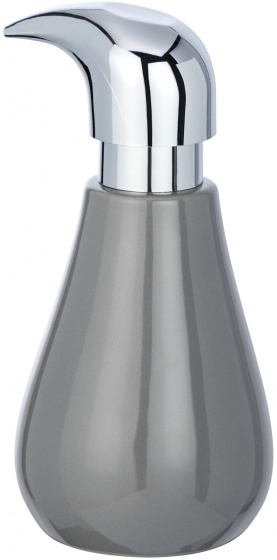 zeepdispenser Sydney 320 ml keramiek grijs