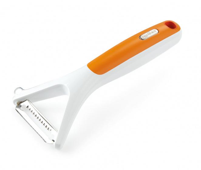juliennesnijder 16,5 cm ABS wit/oranje