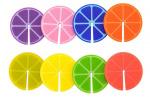 Balvi glasmarker Fruit Party 3,3 cm siliconen 8 stuks
