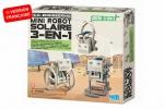 4M KidzLabs green science mini-robot 3 in 1 24 cm 24-delig