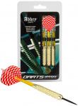 Abbey Darts dartpijlen Brass steeltip messing rood/wit 19 gr