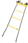 Agility Sports loopladder 6 meter zwart/geel