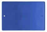 Altranet anti-slipmat diervoerbakken 33 x 48 cm siliconen blauw