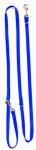 Altranet hondenlijn Multi-Function linnen 180 x 2,5 cm blauw